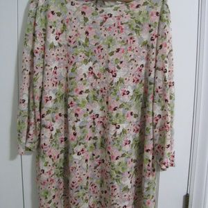 J. Jill LOVE LINEN top blouse shirt Large